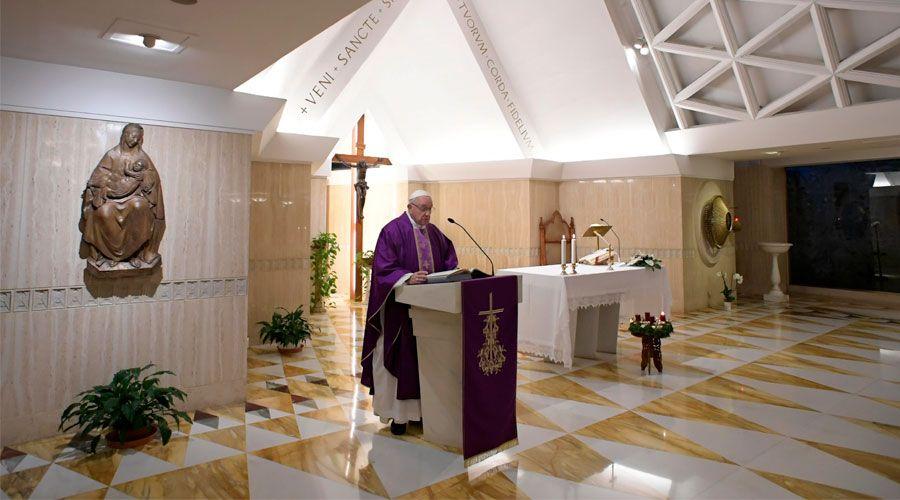 El Papa invita a pacificar el alma, la familia y el mundo en Adviento