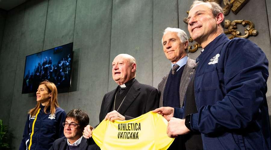 Presentan Athletica Vaticana, la primera asociación deportiva del Vaticano