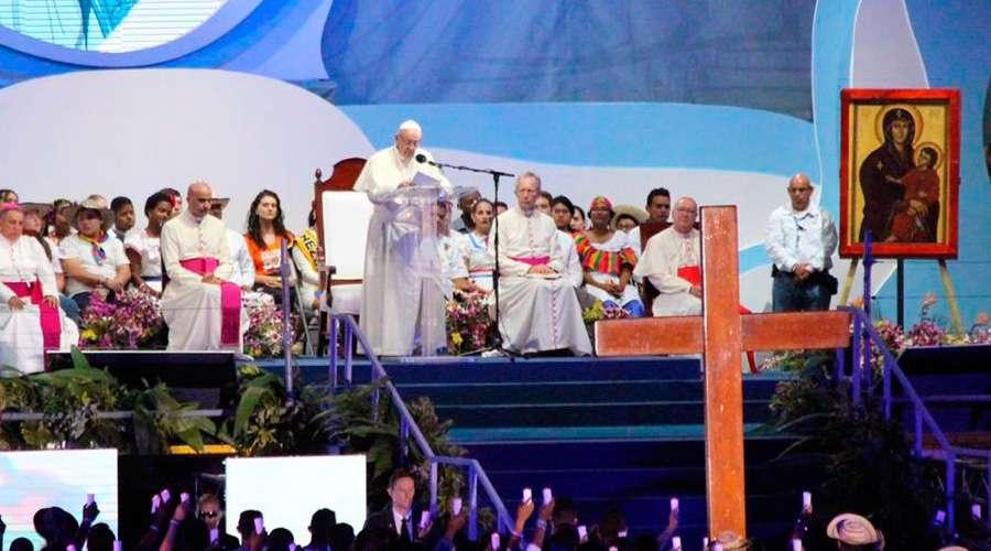 Discurso del Papa Francisco en el Vía Crucis de la JMJ Panamá 2019