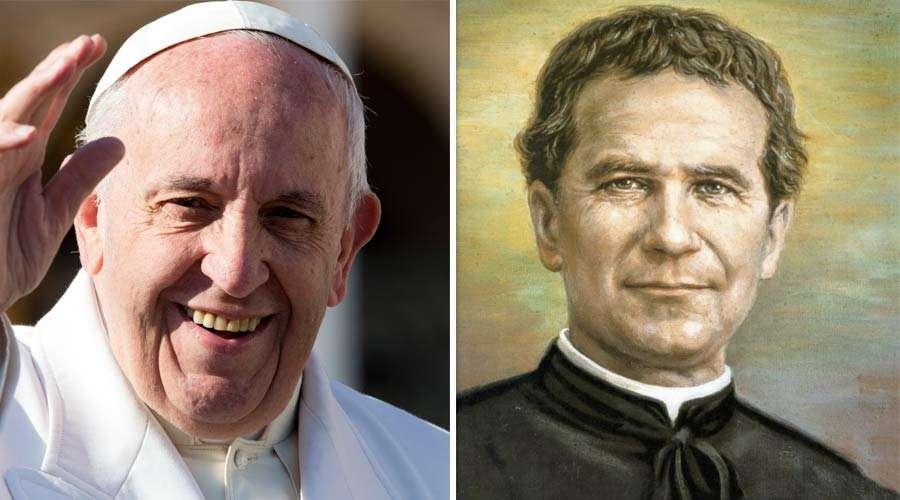 Papa Francisco hace esta breve reflexión sobre Don Bosco
