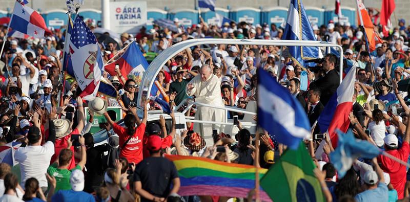 """Como María digan """"sí"""" y enamórense de su misión, alienta el Papa en Misa final de JMJ 2019"""