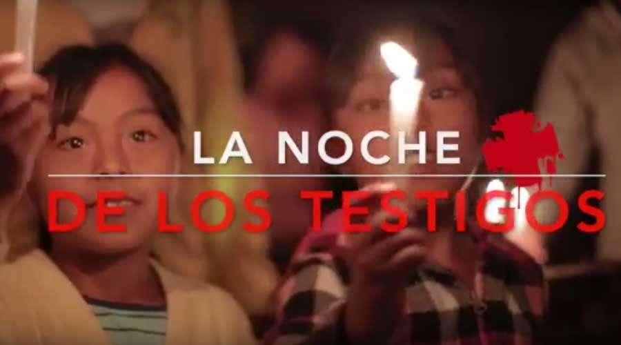 """Segunda """"Noche de los Testigos"""" en México presentará testimonios de Nicaragua, Nigeria y Siria"""