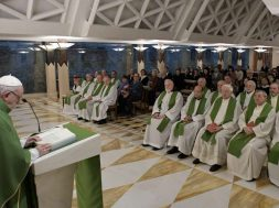 PapaCasaSantaMarta_19feb2019_VaticanMedia