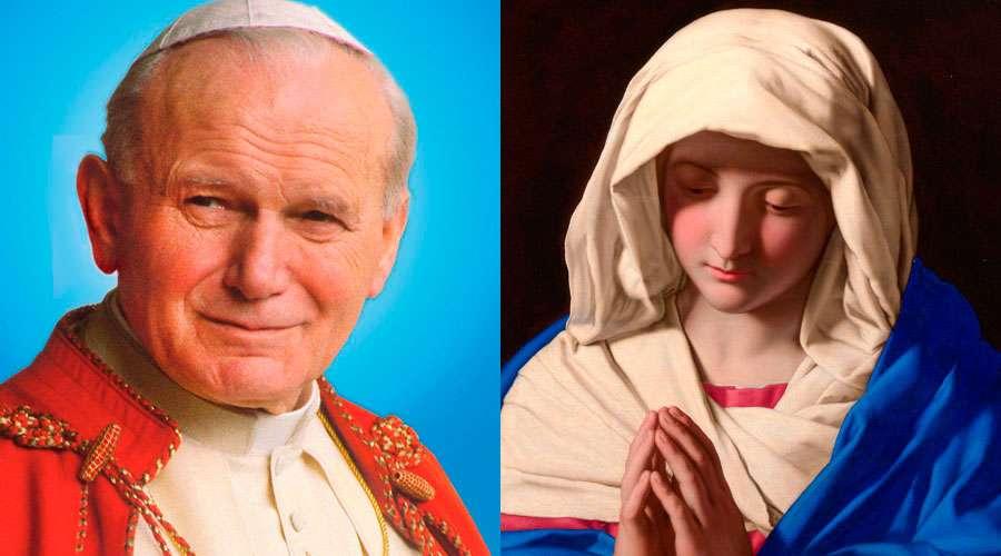 Un día como hoy San Juan Pablo II publicó su encíclica sobre la Virgen María