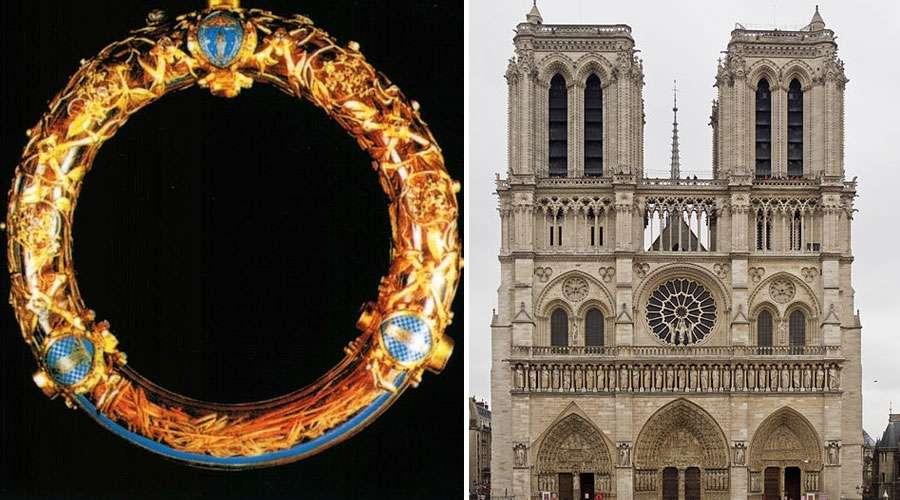 Así llegó la Santa Corona de Espinas a Notre Dame