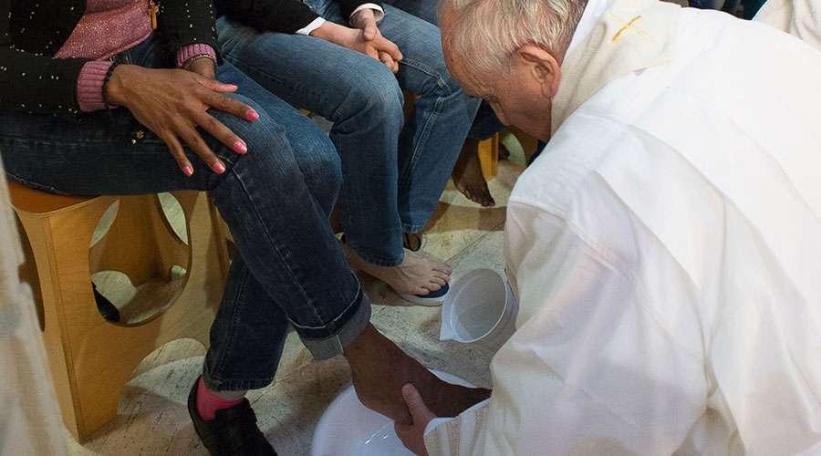 En este lugar el Papa Francisco celebrará la Misa de la Cena del Señor y el lavatorio de pies