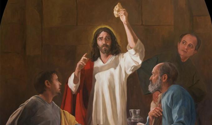 La Pasión: La institución de la Sagrada Eucaristía
