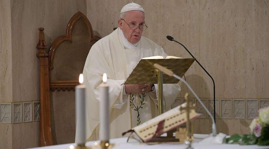 El Papa explica cómo alcanzar la paz donada por Jesús