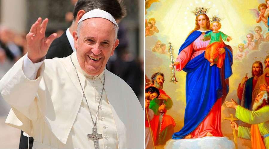 Papa Francisco hace este pedido a María Auxiliadora a pocos días de su fiesta