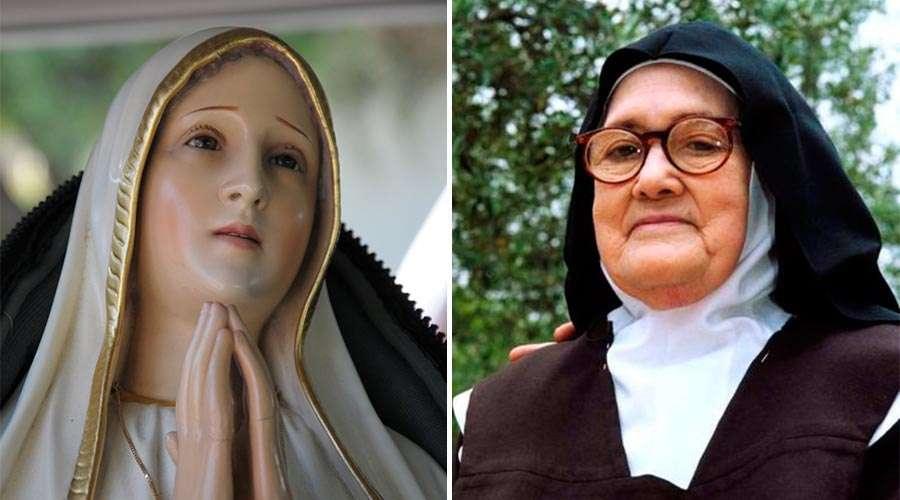 Vidente de la Virgen de Fátima: El Rosario es el arma de los últimos tiempos