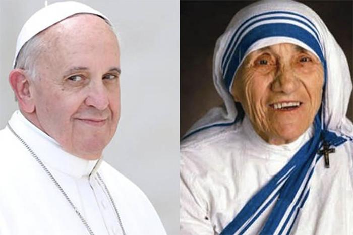 La oración que el Papa Francisco recitó en el memorial de la Madre Teresa