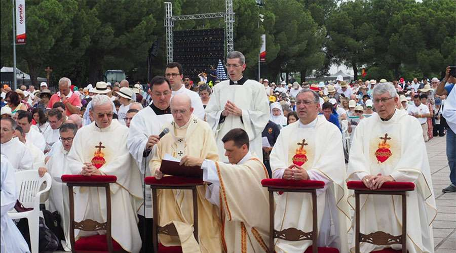 Así fue la histórica renovación de la consagración de España al Sagrado Corazón de Jesús