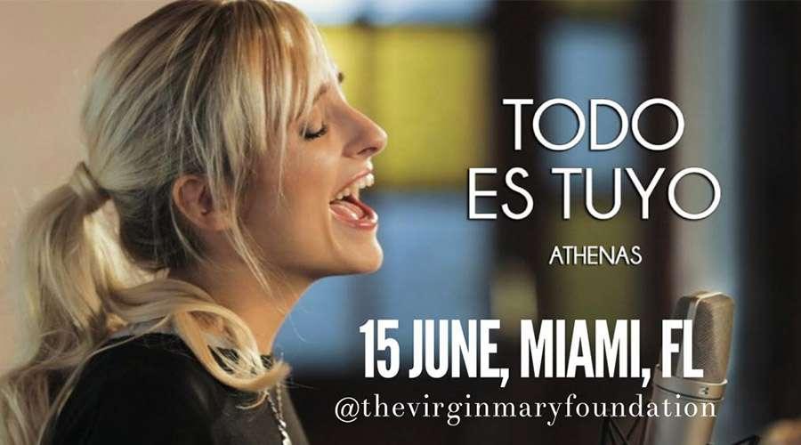 Sigue estos pasos para ganar una entrada al concierto de Athenas en Miami