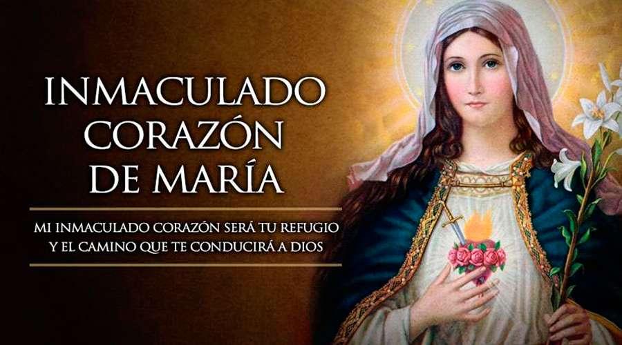 Por qué este año no se celebrará la fiesta del Inmaculado Corazón de María?