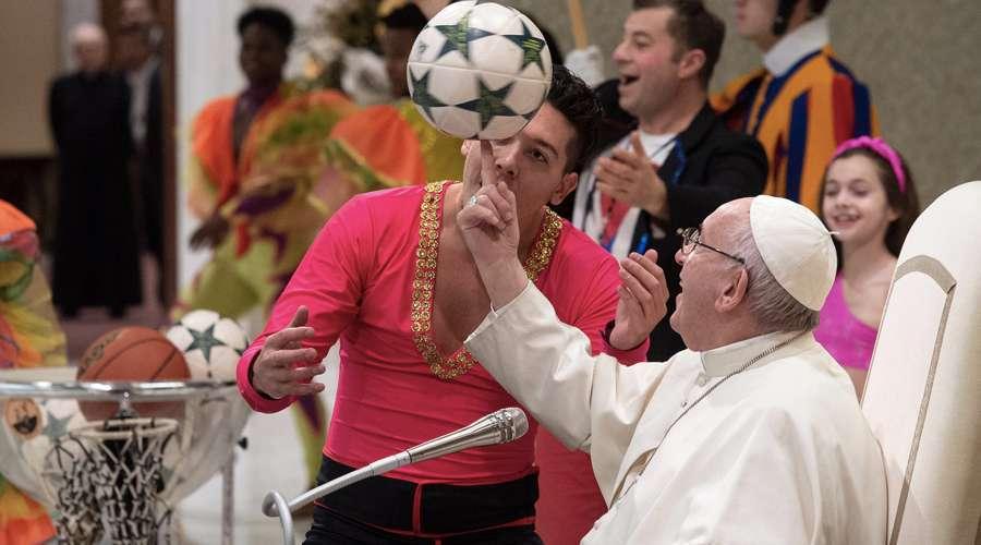 Valores del deporte son una preparación preciosa para la vida, dice el Papa