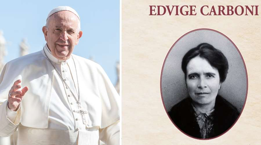 Papa Francisco destaca la vida de la nueva beata Eduviges Carboni