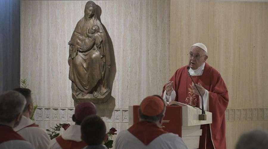 Papa Francisco: la salvación no se compra, Dios nos salva gratis