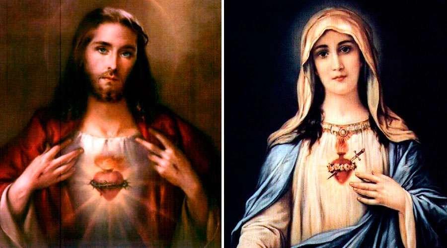Consagra tu familia a los Corazones de Jesús y María con esta oración