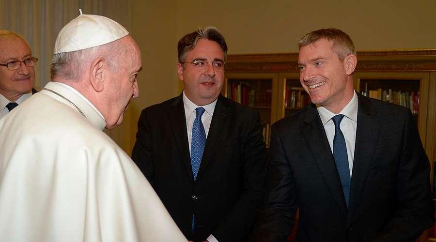 El Papa Francisco nombra nuevo director de la sala de prensa de la Santa Sede