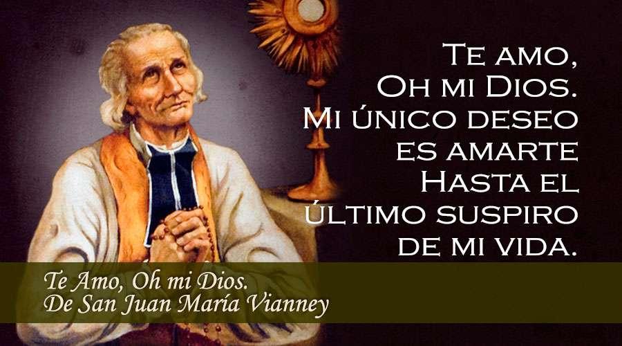 En el día de su festividad pedimos a San Juan María Vianney
