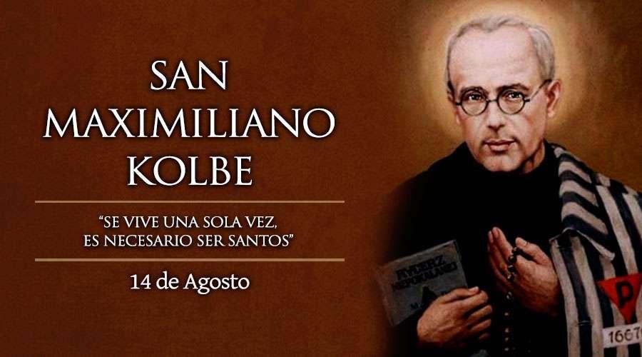 Consagración a la Inmaculada compuesta por S. Maximiliano Kolbe