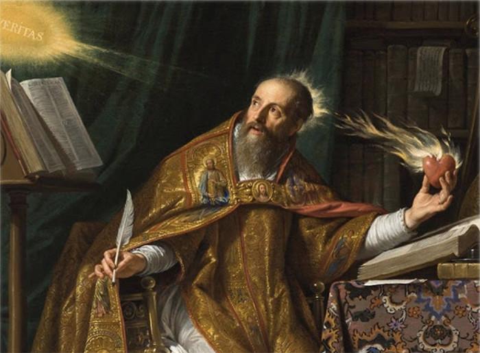 Oración a San Agustín para encontrar la paz tras una pérdida