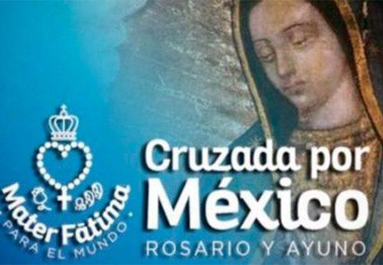 La «Cruzada por México» movilizará a 12 millones de personas unidas rezando el Rosario
