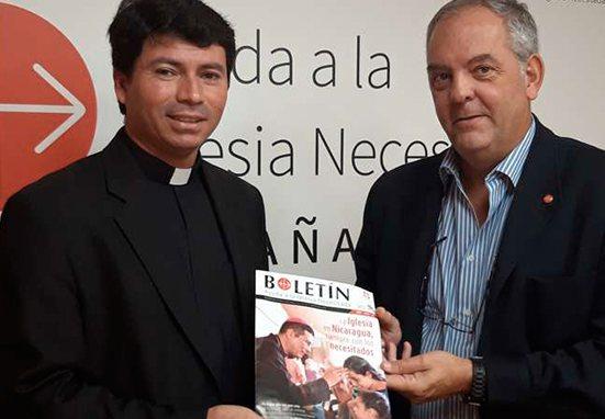 Lanzan campaña de ayuda para la Iglesia en Nicaragua