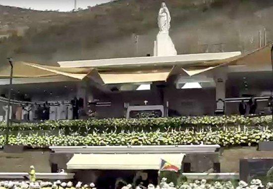 Gracias a la Virgen: la historia del monumento donde el Papa celebró Misa en Mauricio