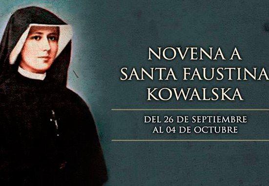 Haz con Mater Mundi la Novena a Santa Faustina Kowalska