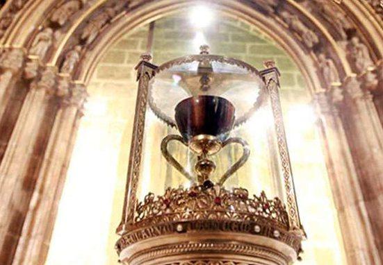 Esta es la referencia más antigua al Santo Cáliz en España