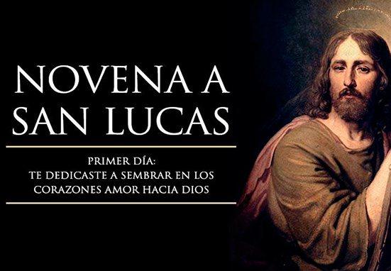 Haz con Mater Mundi TV la novena a San Lucas