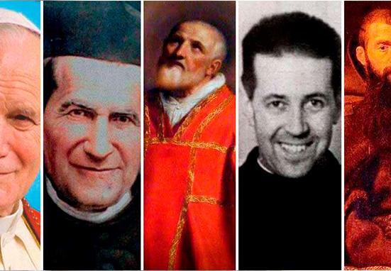 Día Mundial de la Sonrisa: 5 santos que destacaron por su alegría