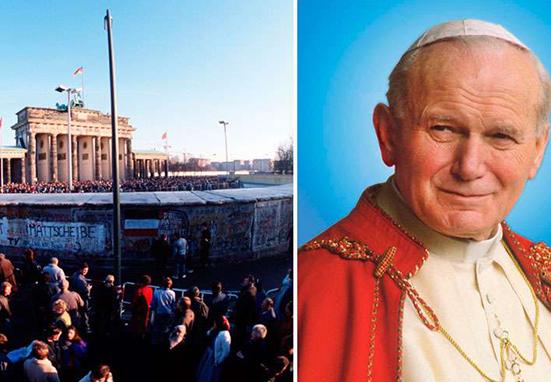 ¿Influyó San Juan Pablo II en la caída del Muro de Berlín?