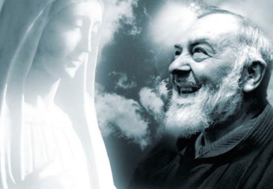 La oración que el Padre Pío rezaba a la Virgen María