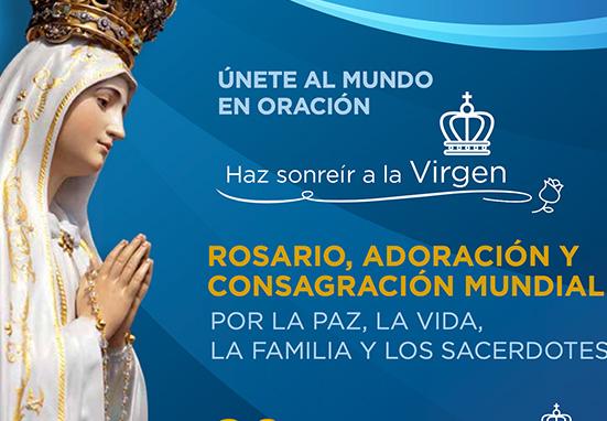 Se celebra el gran Rosario Mundial: por la paz, por la vida, por la familia y los sacerdotes
