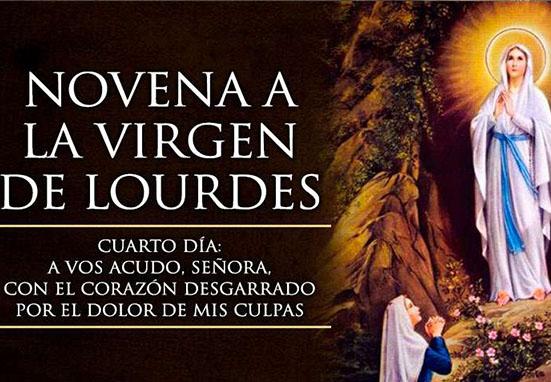 Reza la Novena a la Virgen de Lourdes con Mater Mundi – Cuarto día