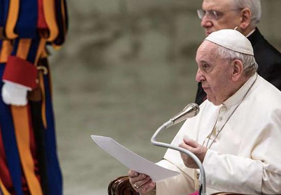 El Papa Francisco explica en qué consiste el llanto por haber pecado